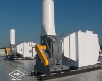 horizontal scrubbers and fans